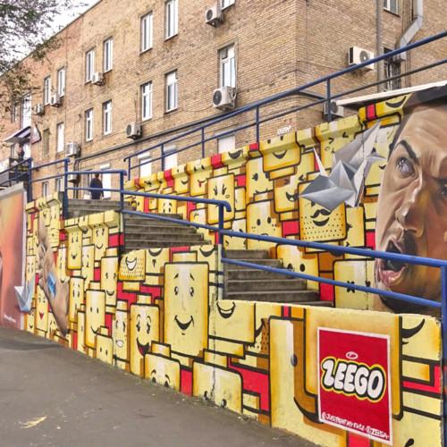 ウラジオストクのストリートアート