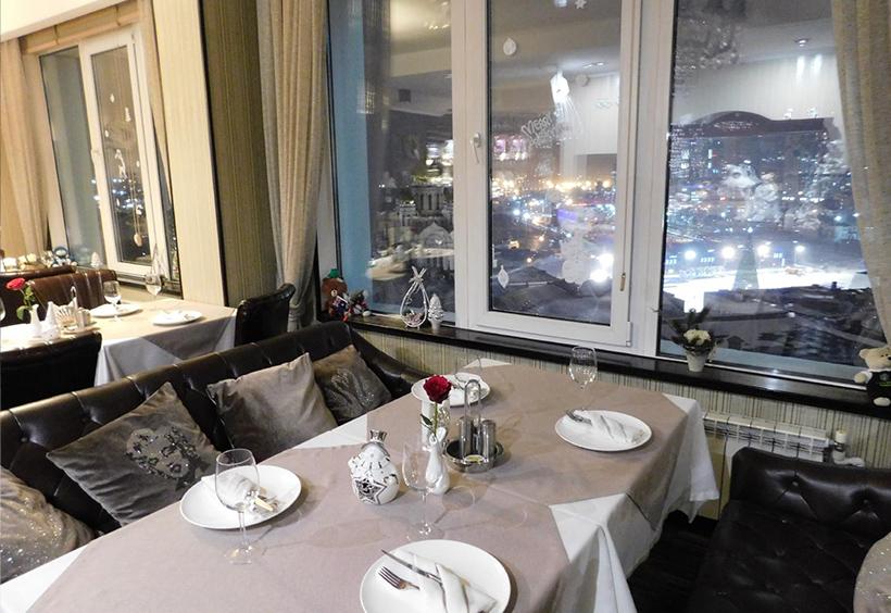 夜景の美しいレストラン ミシェル