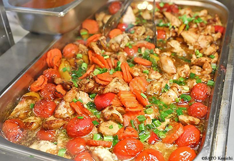 スタローヴァヤの料理