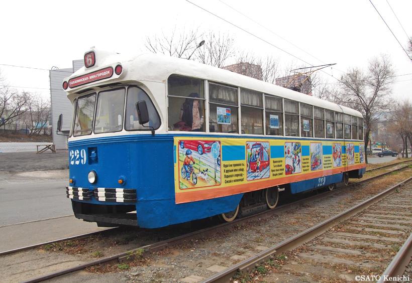 同じデザインがない路面電車