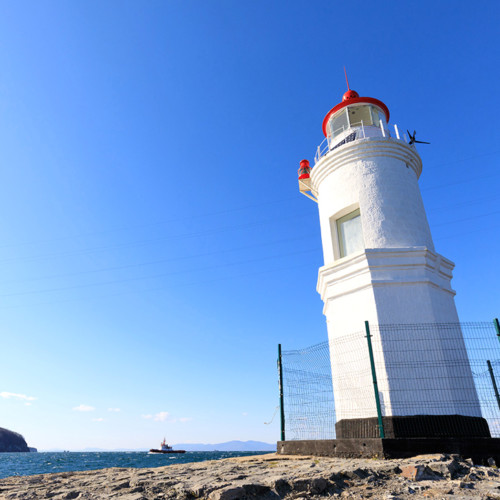 トカレフスキー灯台トップ画像
