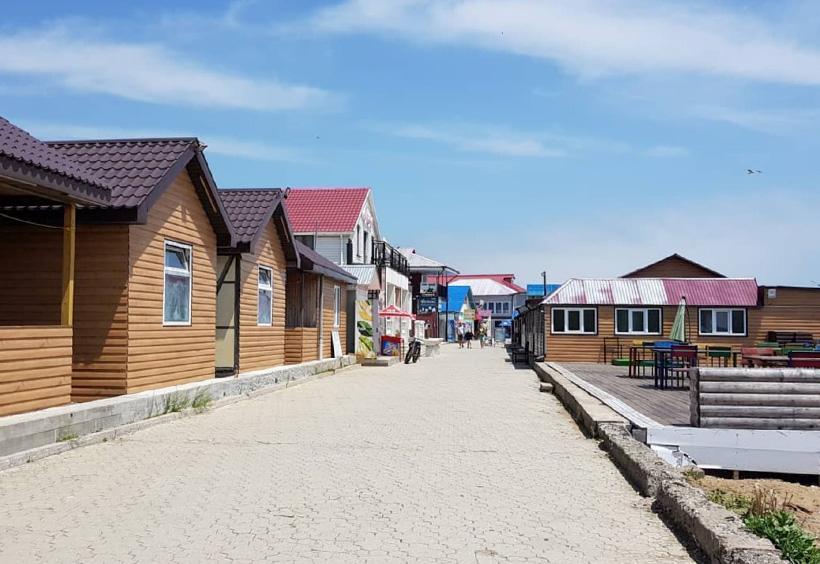 ビーチ沿いの通り