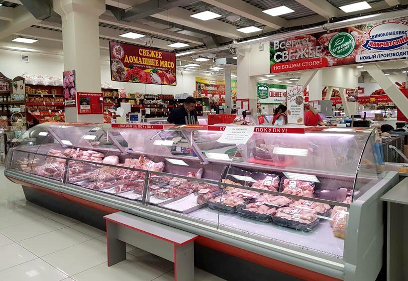 ペトロパブロフスク・カムチャツキーの市場