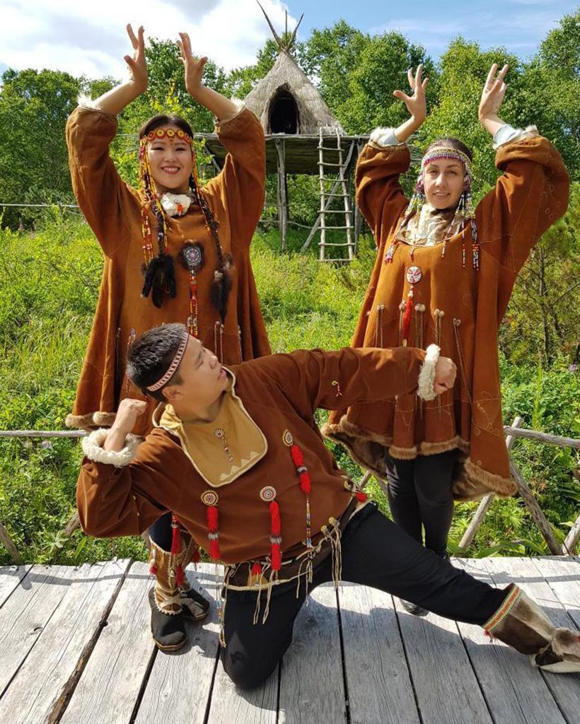 コリャーク人の民族衣装