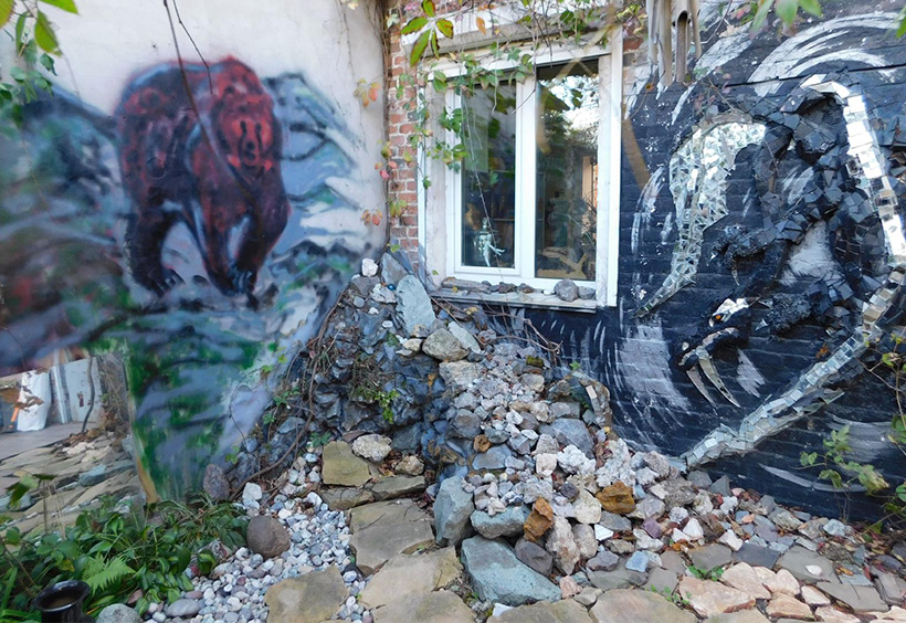 ヤンさんの中庭写真1