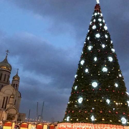 ウラジオストクのクリスマス