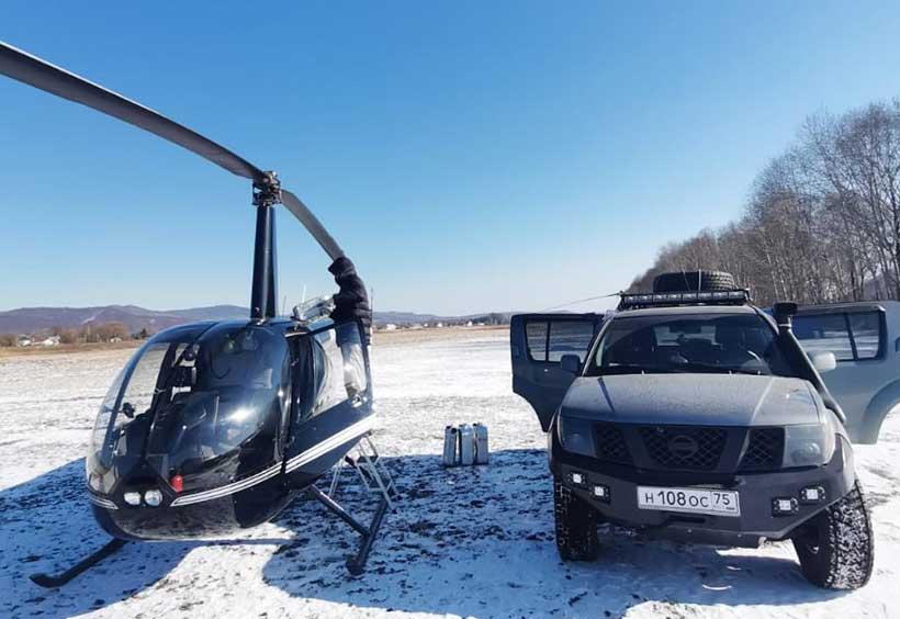 ウラジオストクヘリコプター