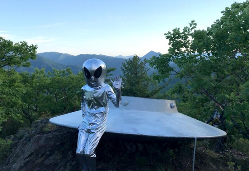 ダリネゴルスクの宇宙人