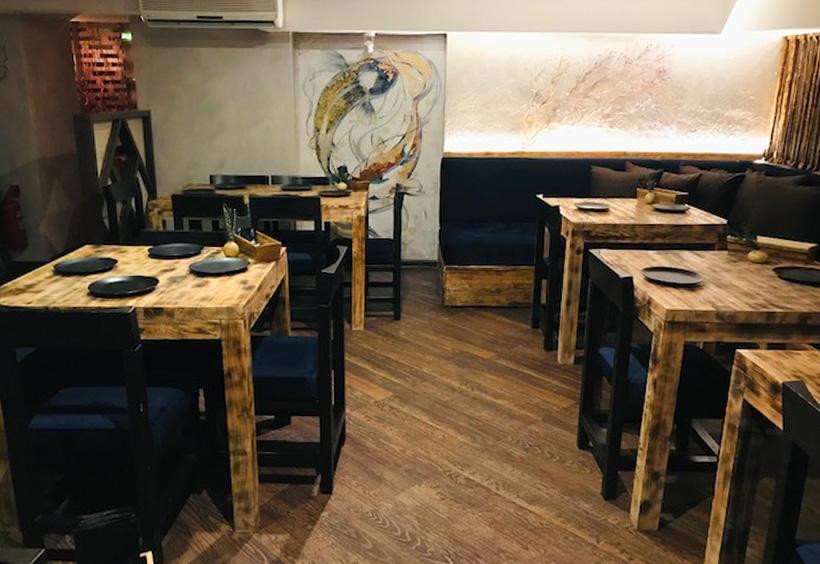 アジアンカフェ「GONG」の店内