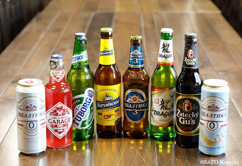 ライセンス生産しているビールたち