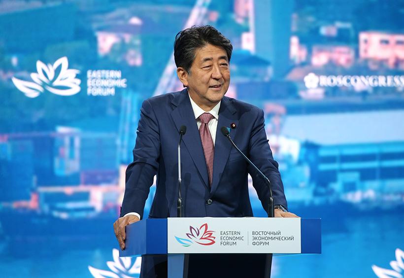 安倍晋三総理大臣(当時)